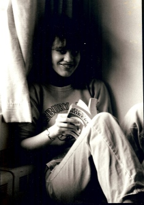 Me, at Ithaca College in Ithaca, NY around 1980.